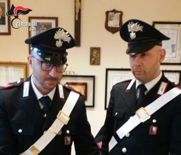Polignano a Mare: arrestato dai Carabinieri un pescatore incensurato, trovato con 450 grammi di marijuana.