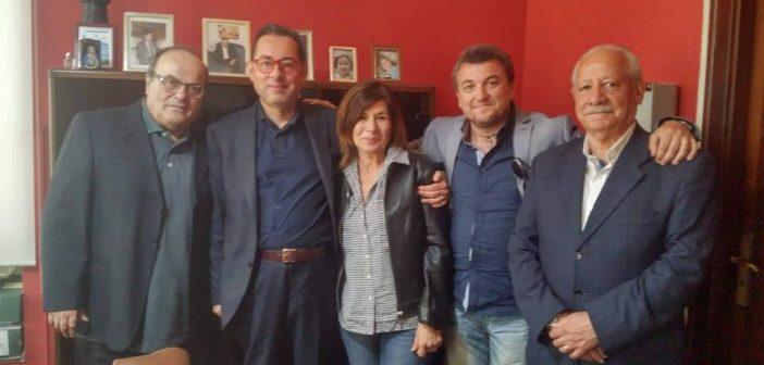 Un gruppo di monopolitani incontra il senatore Gianni Pittella