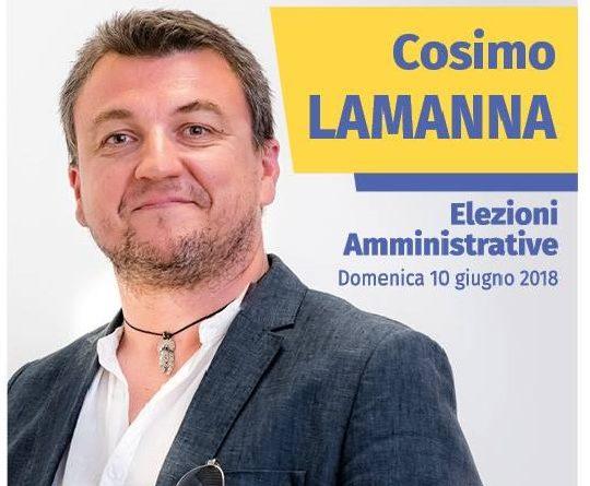 Cosimo Lamanna candidato al Consiglio Comunale di Monopoli