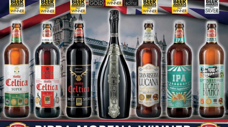 AI WORLD BEER AWARDS BIRRA MORENA UNICA E' … UNICA