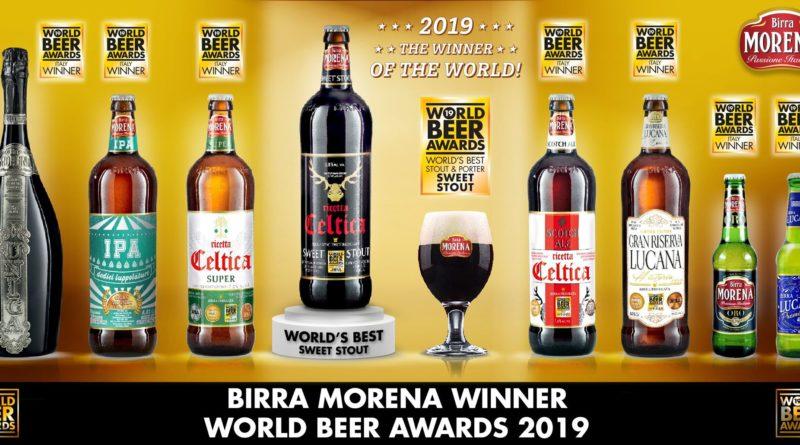 Birra Morena per la seconda volta miglior birra sweet stout al mondo