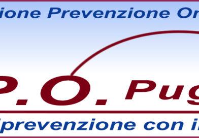 A.P.O. Puglia Onlus, settimana della prevenzione