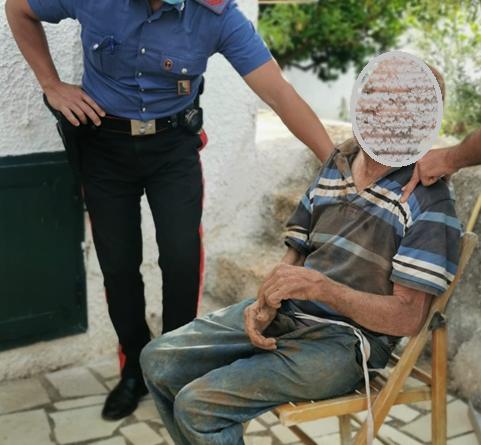 Polignano, ritrovato dai Carabinieri l'anziano scomparso