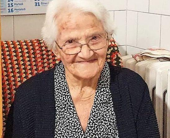 Noci festeggia la nonna di Puglia, Annina ha 108 anni