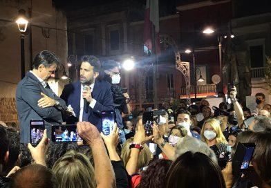 """Conte a Noicattaro: """"Qui buona amministrazione"""""""